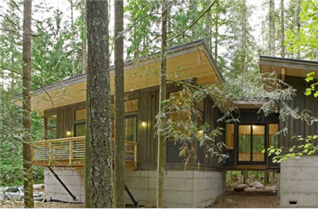 Method Homes Cabin Series.