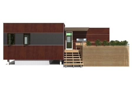 miniHome Duo prefab home.