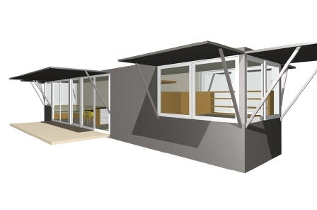 PieceHomes Container House prefab home.