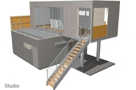 PieceHomes Wrap House prefab home.
